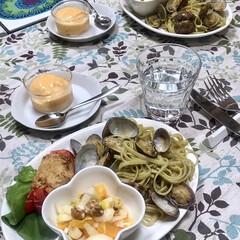 暮らしの記録/暮らしを楽しむ/リングイネ/オリーブオイル/南イタリア料理/地中海式ダイエット/... イタリアンお料理教室に行ってきました😊今…