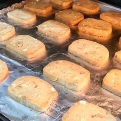 アラビア プレート ARABIA ブラック パラティッシ Black Paratiisi プレート ARABIA 21cm 6671 | アラビア(皿)を使ったクチコミ「強力粉を使ったクッキーを作りました🍪ミッ…」(5枚目)