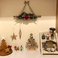 季節を楽しむ/季節を楽しむインテリア/暮らし/インテリア/玄関インテリア/クリスマスディスプレイ/... クリスマスがやってきた フォトコンテスト…