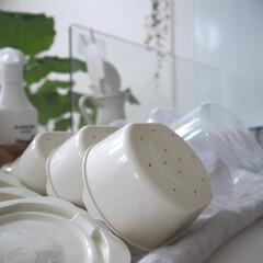 ごはんの保存容器/キッチン/暮らし/100均/ダイソー/みんなにおすすめ すっかりこのアイテムの虜。 冷凍ごはんを…(1枚目)