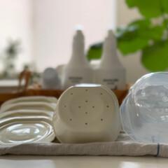 ごはんの保存容器/キッチン/暮らし/100均/ダイソー/みんなにおすすめ すっかりこのアイテムの虜。 冷凍ごはんを…(3枚目)