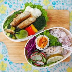 【手作りお弁当】フォトコンテスト/フォトコンテスト/彩り/栄養バランス/お弁当/フード 娘と自分のお弁当つくり(⍢)