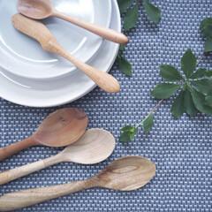 テーブル/スプーン/手作り/カトラリー/ニトリ/キッチン/... 同僚のハンドメイド 心のこもった、物語の…