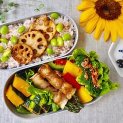 女子高生のお弁当/彩り/栄養バランス/お弁当/おうちごはん/節約/... 娘とわたしのお弁当づくり(1枚目)