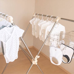 baby/はじめてフォト投稿 もうすぐ会える孫ちゃんの産着をお洗濯🎶 …