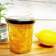 stayhome/Life style/至福のひととき/休日の過ごし方/アラフォー主婦/ガラス容器/... 【Lemon jam】 🍋Lemon ジ…