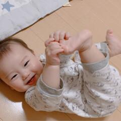 乳歯/孫ちゃん/次のコンテストはコレだ!/フォロー大歓迎 今日で7ヶ月になった孫の👑王子です♡  …(2枚目)