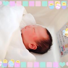 BABYフォト/赤ちゃん/初孫誕生/平成最後の一枚/フォロー大歓迎/はじめてフォト投稿/... 昨夜遅くに3430㌘の元気な男の子が産ま…