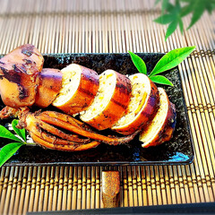 和食レシピ/おもてなし料理/アラフォー主婦/夕食/うちのご飯/スタミナごはん/...  【炊飯器でイカ飯】  【材料】2人前…