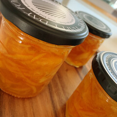オレンジ /おうち時間/ジャム作り/マーマレード/おうちごはん マーマレード完成ーーーーッ‼️  今回は…