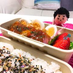 「みんなのお弁当」/みんなのお弁当 高1🌼女子ドカ弁🍱  焼若鶏のミートソー…