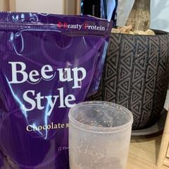 Bee up Style Chocolate風味   Bee up Style(ソイプロテイン)を使ったクチコミ「LIMIAさんありがとう🎉 何やら当たり…」(2枚目)