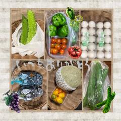 至福なひととき/感謝/何時もありがとうございます/頂き物 お義父さんの手作り野菜達… 頂きましたぁ…