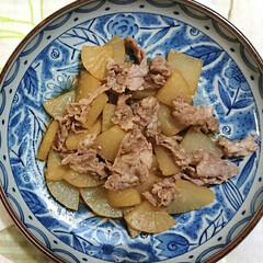 お家ごはん/レンジで絶品レシピ/レンチン/時短レシピ レンチンで豚バラ大根❣️ 残ってた大根を…