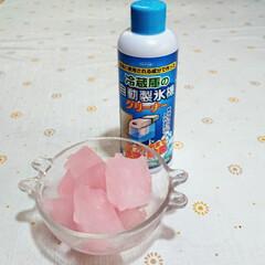 冷蔵庫/製氷機/フォロー大歓迎/掃除/暮らし 美味しそうな氷だけど食べらせませ~ん😊 …