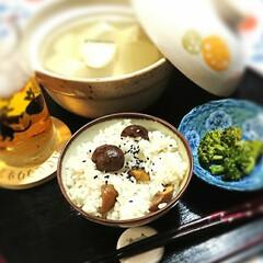 栗ご飯/クラシル/クックパッド/ダイソー/甘栗/お家ごはん/... 甘栗ごはん❣️ ダイソーの甘栗を食べなが…