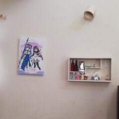 テサ パワーストリップ 高さ調節キャンバスフック   テサ  (ウォールフック)を使ったクチコミ「テサパワーストリップ高さ調節キャンバスフ…」(9枚目)