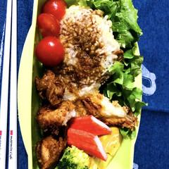 お昼ごはん/お弁当/わたしのごはん/グルメ/フード 私のお弁当🍱 子どもウケを狙って、たい焼…