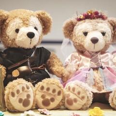 ウエルカムアイテム/ラプンツェル/結婚式/娘/シェリーメイ/ダッフィ/... 娘の結婚式💒に、welcomeダッフィ&…