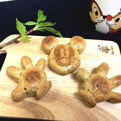 ミッキーマウス/こんがり/抹茶マフィン/至福のひととき/おやつタイム/LIMIAスイーツ愛好会/... 紅茶マフィンを焼いてみました🤗 ダイソー…