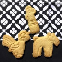手作り/クッキー型/クッキー/スイーツ/ハンドメイド 姉と一緒にクッキーを作りました! (私は…