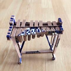 ハンドメイド/チョコ/お菓子の箱再利用/紙/リメイク ザ・チョコレートの空き箱で作りました。グ…