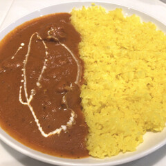 本場/カレーライス/カレー/サフランライス/ご飯 私はご飯派🍚 カレーが美味しい