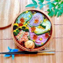 めんつゆジュレ/時短弁当/素麺弁当/七夕弁当/お弁当 ❁❁❁❁❁❁❁❁❁❁❁❁❁❁❁❁❁❁❁❁…
