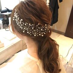 小枝/ヘッドアクセサリー/アクセサリー/結婚式/2018 あっという間に今年も終わり。 妹の結婚式…