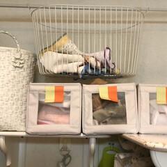 ランドリーボックス/アフタヌーンティー/IKEA 手洗いと洗濯機洗いとキッチンリネンを分別…(2枚目)
