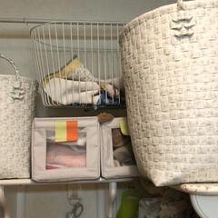 ランドリーボックス/アフタヌーンティー/IKEA 手洗いと洗濯機洗いとキッチンリネンを分別…