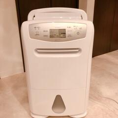 三菱 衣類乾燥除湿機 ホワイト MJ-180LX-W | 三菱(除湿機)を使ったクチコミ「三菱 除湿機 買って良かった 湿度が高く…」