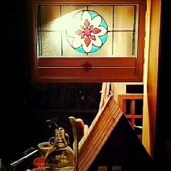 ガラス絵具 ガラス絵具のフレーム