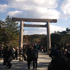 初詣/伊勢神宮 だいぶ遅れましたが、あけましておめでとう…(1枚目)