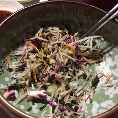 チョレギサラダ/韓国 チョレギサラダを作って食べたら、ちょっと…