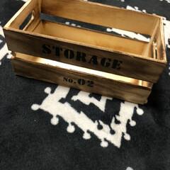 木箱/簡単DIY/インターフォンカバー/DIY/100均/ダイソー ダイソーの木箱でインターフォンカバーを作…