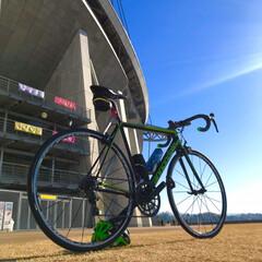 ロードバイク/冬/グルメ