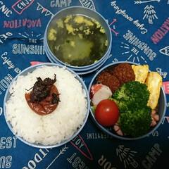 サーモス/高校男子弁当/食事情/お弁当/フォロー大歓迎 おはようございます🤗  やっときました!…