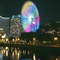 夏の思い出/娘と旅行/夜景/横浜/おでかけ 初コンテスト応募