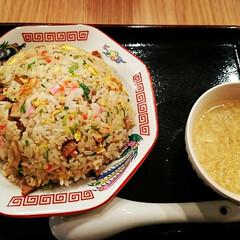 チャーハン/レバニラ炒め/麻婆らーめん/唐揚げ定食/外食 こんばんは🌃 今夜は外食しました‼️  …