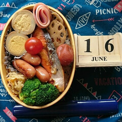 曲げわっぱ/高校男子弁当/ランチ おはようございます🤗  朝からムシムシし…