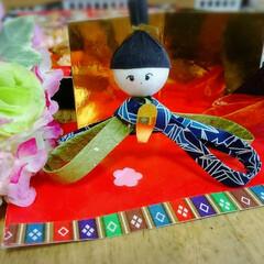 ひな祭り/フォロー大歓迎/わたしのごはん/ハンドメイド/グルメ 一枚目は娘が児童館で製作したものです🎎 …