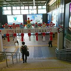 七夕祭り/仙台/フォロー大歓迎/おでかけ/風景 仙台駅着いたら、七夕祭りの飾りがとてもキ…