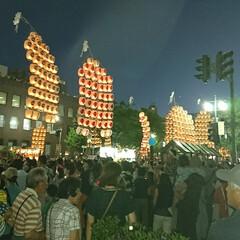 竿燈/夏祭り/グルメ/フード/おでかけ 今年もやって来ました~🎵 秋田の夏祭り‼…