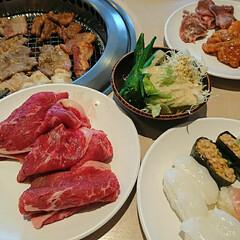 食べ放題/焼肉/フォロー大歓迎/グルメ/フード すたみな太郎という焼肉、お寿司、デザート…