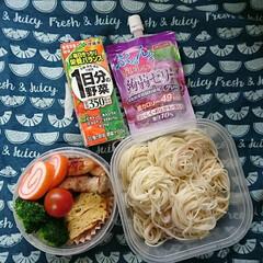 素麺/高校男子弁当/お弁当 おはようございます🤗  今日はまた温度が…