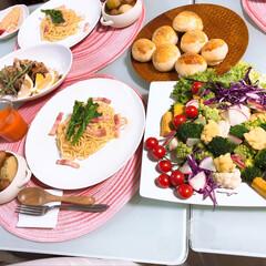 野菜料理のレシピ/野菜料理/LIMIAごはんクラブ/フォロー大歓迎/わたしのごはん/おうちごはんクラブ/... 野菜生活🥗 夜勤明けの今日は、身体が野菜…