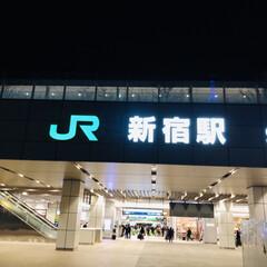 新宿駅 普通の新宿駅。