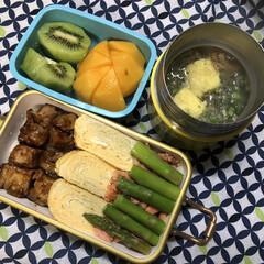 サーモス 真空断熱スープジャー 500ml ダイダイ JBM-501 DD | サーモス(保温弁当箱)を使ったクチコミ「愛娘への毎日弁当。」