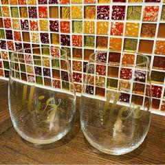 ガラスコップ/コップ/お気に入り/可愛い/キッチン雑貨/100均/... 今使ってるコップがそろそろお暇やらないと…